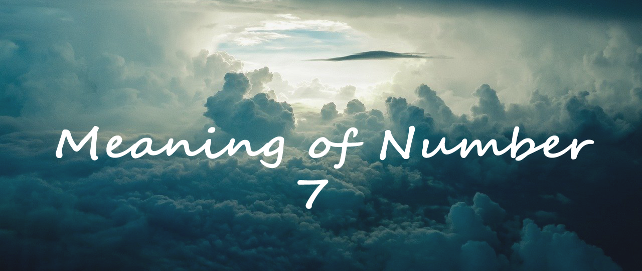 Meaning of Number 7
